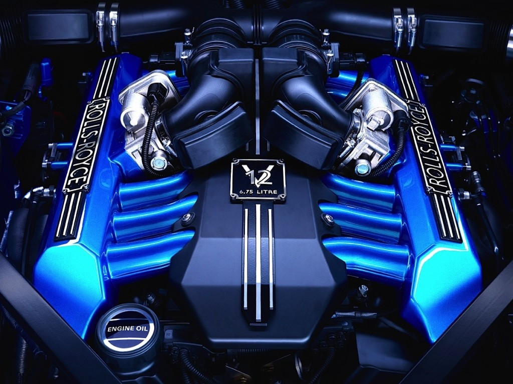 Rolls-Royce engine v12