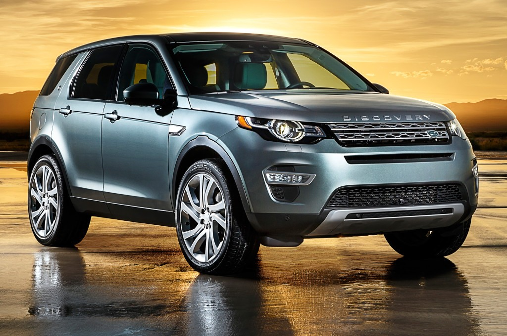10 - 2015 Land Rover Discovery Sport