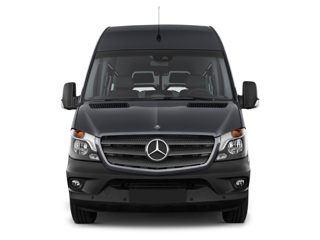The 2015 Mercedes-Benz Sprinter Passenger Vans Are Showing ...