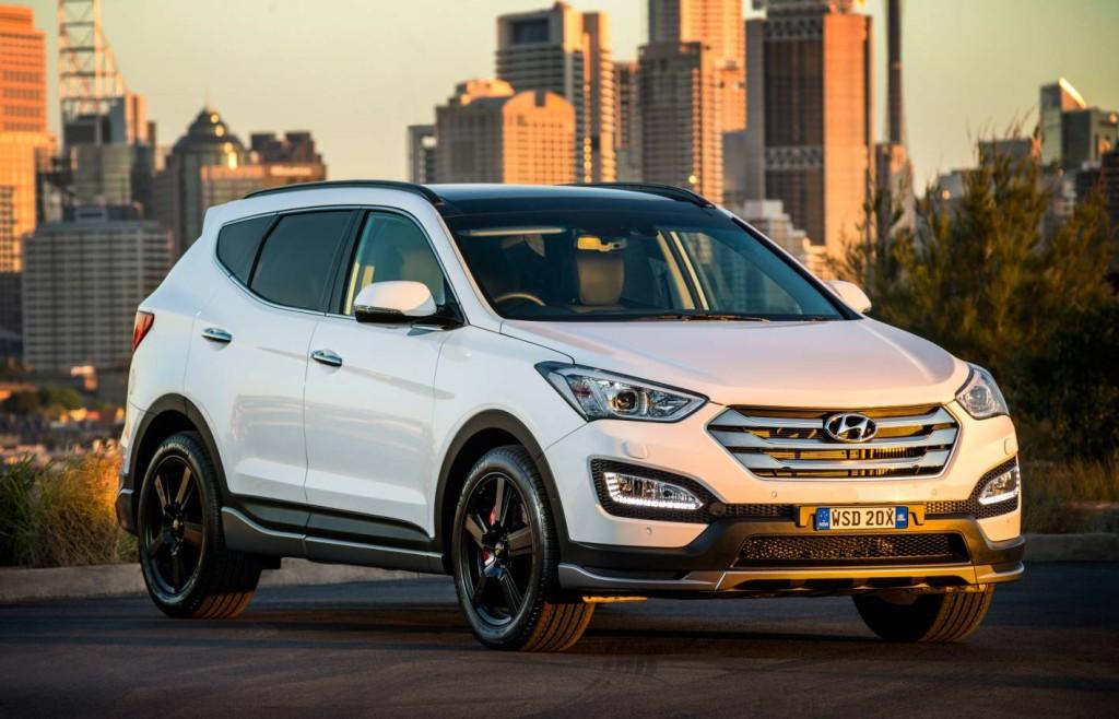 9 - 2015 Hyundai Santa Fe
