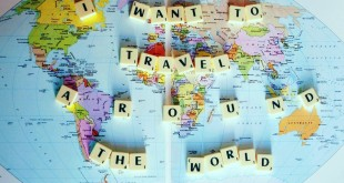 Dream of travel around the world