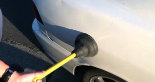 how to remove dents from car