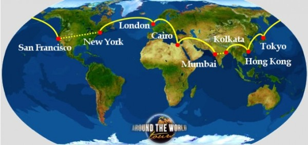 Dreams of a trip around the world may never come to pass here is trip route planner gumiabroncs Choice Image