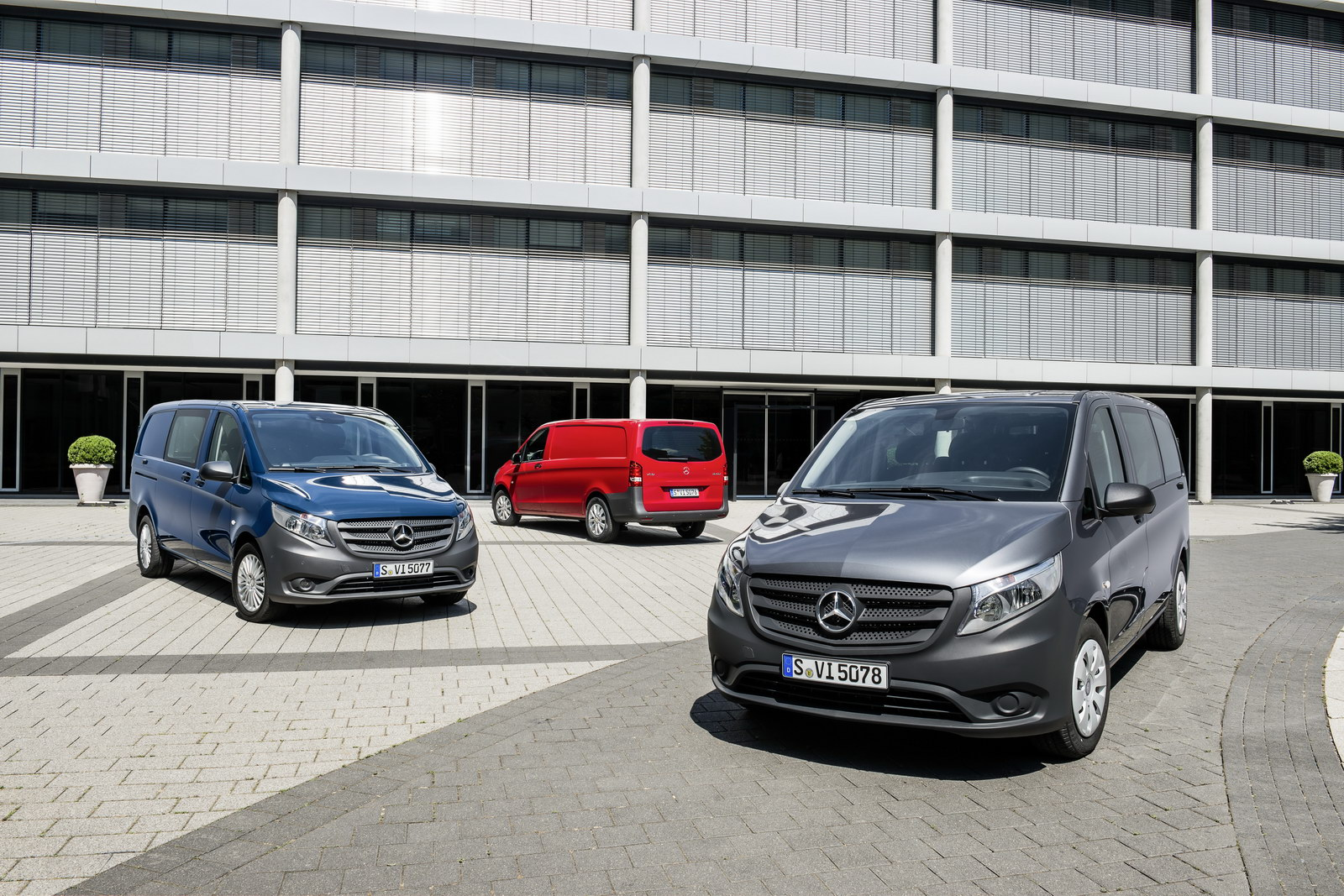 Mercedes vito van looking to break out of sprinter shadow for Mercedes benz van 2015