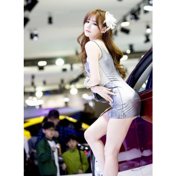 Most beautiful girls in the Seoul Motor Show 2015 (28)