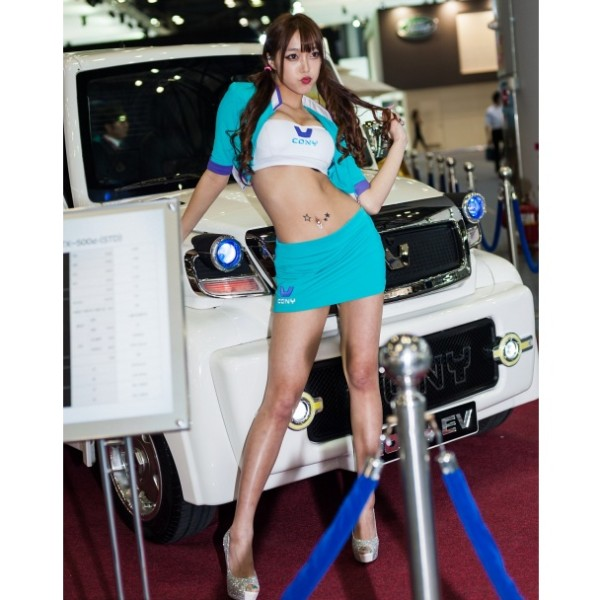 Most beautiful girls in the Seoul Motor Show 2015 (29)
