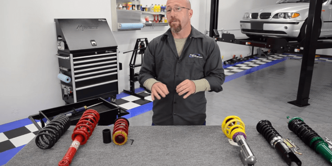 Coilovers vs regular shocks and springs – What is the difference?