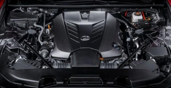 Lexus  LC 500 Coup  engine