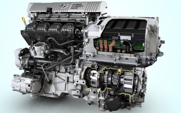 Toyota Prius Hybrid Synergy Drive technology