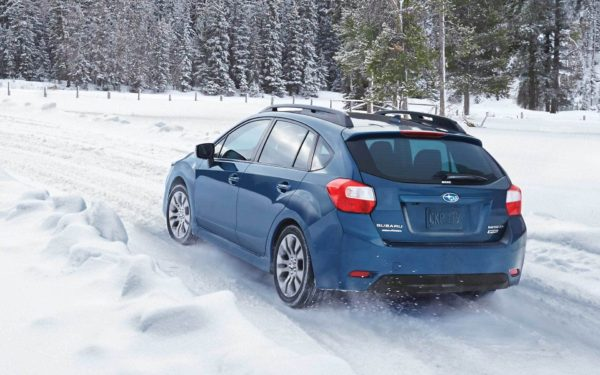 2016 Subaru Impreza all weather pack