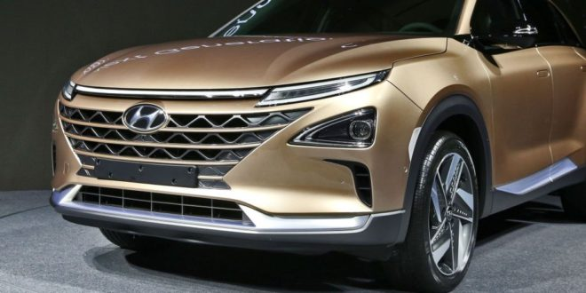 Hyundai shows New hydrocarbon Crossover