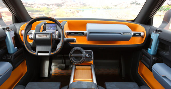 Toyota_FT4x Concept dashboard