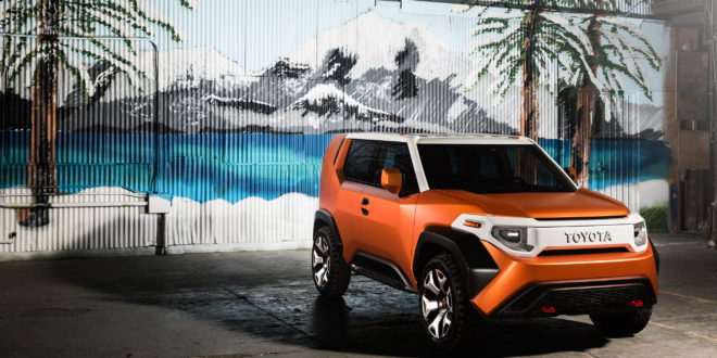 Toyota FT-4X Concept – a new toy for youth