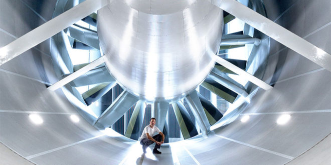 Volkswagen open new Wind Tunnel Efficiency Center for Vehicle tests out under real-world climate conditions