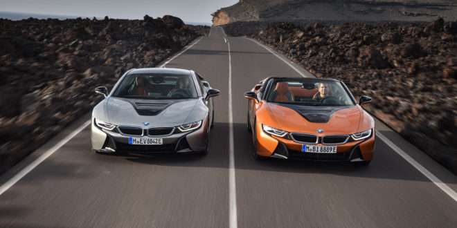 The new BMW i8 Roadster and BMW i8 Coupe