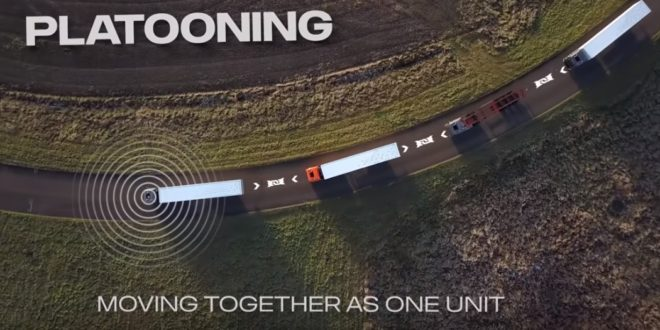 Semi-autonomous truck platooning — how does it work?