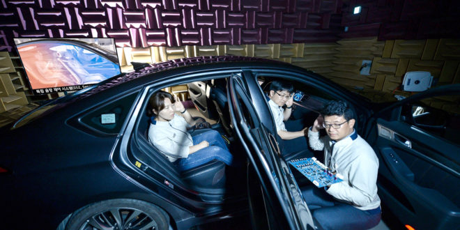 Separated Sound Zone Technology from Kia Motors
