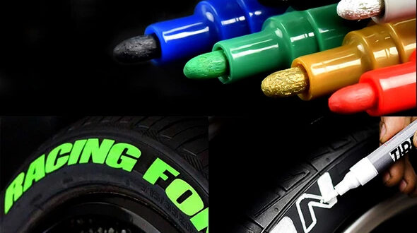 TIRE LETTERING STICKERS VS PAINT